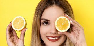 cilt lekeleri için limon